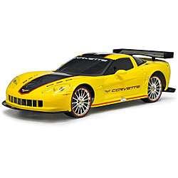 Remote Control 110 scale Full Function Yellow Corvette