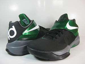 NIKE ZOOM KD IV Black/Pine Green  473679 004  MENS BASKETBALL