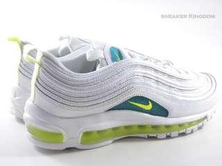 Nike Air Max 97 White/Turbo Green Running Women Wmns sz