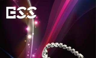 Bracelet Quartz Fashion Design Girl White Crystal Bangle Watch
