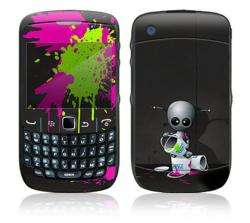 Baby Robot BlackBerry Curve 8500 Decal Skin