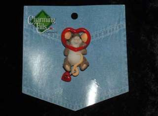 Charming Tails Leaf and Acorn Club 2010 Event Pin NEW