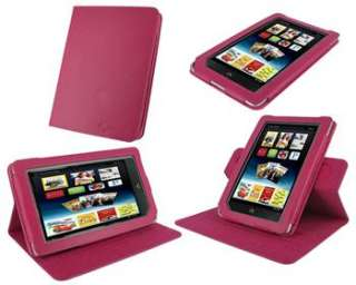 ROOCASE Dual View Leather Folio Case Cover for B&N Nook Color / Tablet