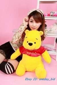 New Cute Plush Winnie Pooh Bear Doll Toy 60cm/23High
