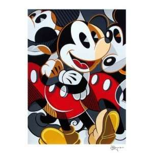 Mousing Around 3   Disney Fine Art Serigraph by Tim Rogerson: