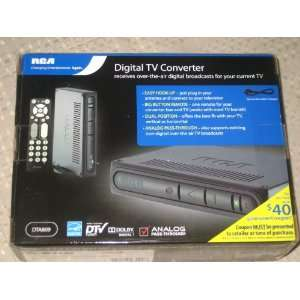 Digital TV Converter with Remote Control Electronics