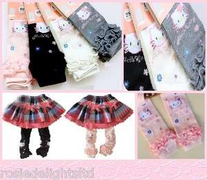 Toddler/Girls Hello Kitty Winter Warm Leggings/Tights Pick from 4
