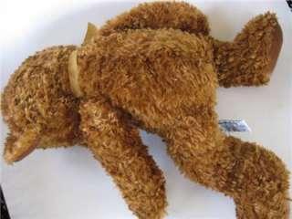 Super Soft Russ Honeyfitz Rusty Brown Plush Teddy Bear