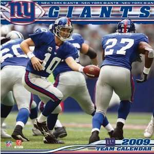 New York Giants NFL 12 x 12 Team Wall Calendar