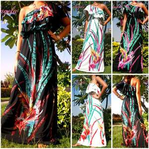 /White Evening/Cocktail Women Long Maxi Dress Size S   XXXL 8   22 CA
