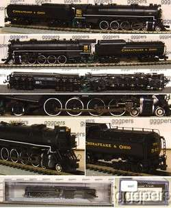 scale BACHMANN USRA Mountain 4 8 2 Steam Engine CHESAPEAKE & OHIO C