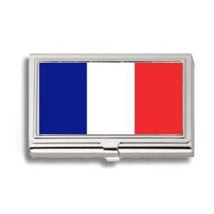 New Caledonia Caledonian Flag Business Card Holder Metal