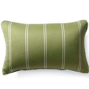 Outdoor Outdoor Lumbar Pillow in Sunbrella Topside Green