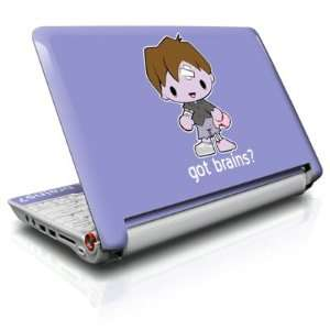 Got Brains Design Skin Cover Decal Sticker for the Acer