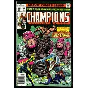 The Champions #17 Bill Mantlo, George Tuska, John Byrne Books