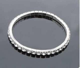 1PC Fashion Stretch Bracelet Shining Rhinestone Beautiful Gift