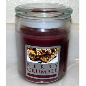 Berry Crumble Scented Jar Candle   20 Oz.