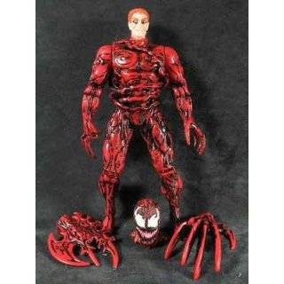 Marvel Comics Spider man Carnage Uneashed with Removeable Symbiotic