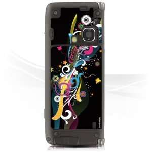 Design Skins for Nokia E90   Color Wormhole Design Folie Electronics