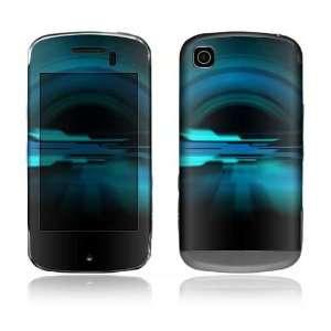 Future Night Blue Design Protective Skin Decal Sticker for LG Shine