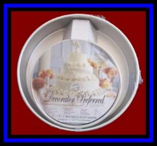NEW Wilton **ROUND WEDDING CAKE PAN SET 3 inch DEEP** |