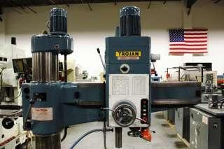 HRD 1000H SUPERMAX Trojan 33 x 9 Radial Arm Drill Press 94
