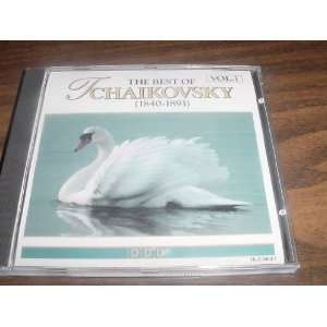 Audio CD Compact Disc of The Best of Tchaikovsky 1840 1893 with Slovak