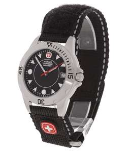 Wenger Mens Black Dial Extreme II Sport Watch
