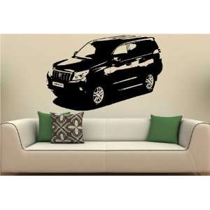 Wall MURAL Vinyl Sticker Car TOYOTA PRADO S. 1449