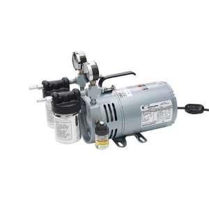 0523 V4 SG588DX Vacuum Pump,Rotary Vane,1/4 HP,26