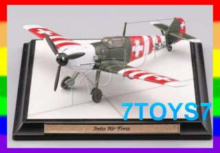Tomytec 1/144 Bf109E 3#106 Swiss Air ForceNOW TY020F