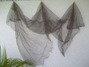 Decorative Nautical Fishing Net 5 x10 beach, fish decor