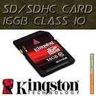 New Kingston SD 16GB 16G SDHC Class 10 Secure Flash Memory Card