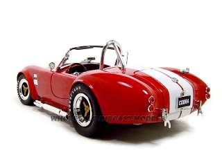 1965 SHELBY COBRA 427 S/C RED 118 SCALE DIECAST MODEL