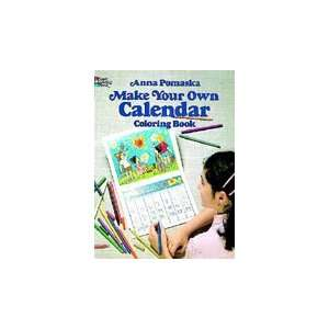 Dover Coloring Book Make Your Own Calendar Arts, Crafts & Sewing