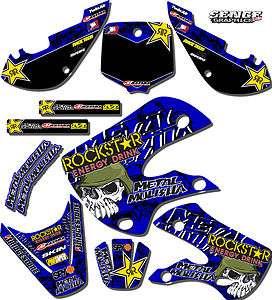 2010 2011 TTR 110 GRAPHICS KIT YAMAHA TTR110 DECO DECALS STICKERS MOTO