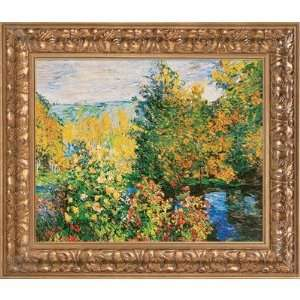 of the Garden by Monet, Claude   22.45 x 26.45 Home & Kitchen