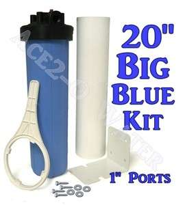 Big Blue 20 Whole House Water Sediment Filter 1 Pipe Connections