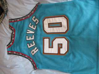 Vancouver Grizzlies Authentic Champion jersey Reeves Vintage 1996 NBA