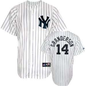 Curtis Granderson Youth New York Yankees Home White