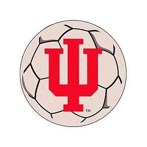 INDIANA HOOSIERS OFFICIAL 29 SOCCER BALL RUG
