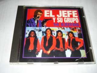 EL JEFE Y SU GRUPO 14 EXITOS CD USADO VGC CUANDO ESCUCHES ESTE VALS MI