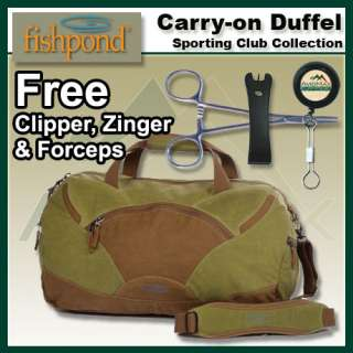 Fishpond Sporting Club Carry On Duffel Bag Earth