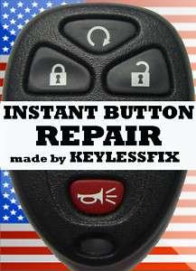 GM Factory Key Fob Repair Pad INSTANT Button repair