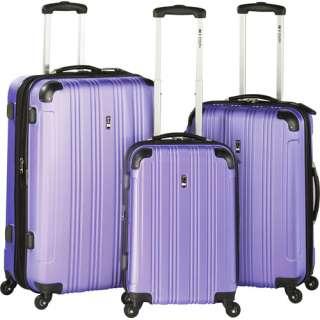 Travel Concepts Nova 3 Piece Luggage Set, Violet Luggage