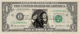 LMFAO Dollar Bill Real Currency! Celebrity Novelty Collectible Money