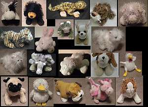 Assorted Webkinz, Lil Kinz, Marionette Animals, Ganz, Assorted