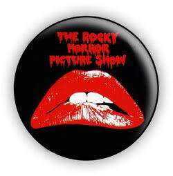 The Rocky Horror Picture Show 1 Inch Pin Button Badge