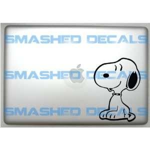 Snoopy Vinyl Macbook Apple Laptop Decal
