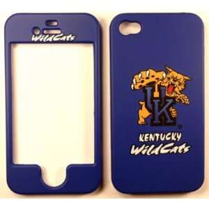 Kentucky Wildcats iPhone 4 4G 4S Faceplate Case Cover Snap